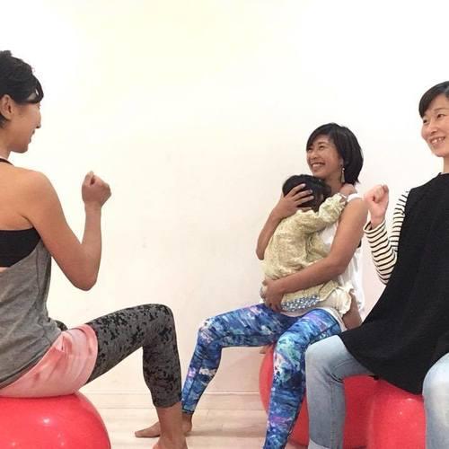 🔰👶【大阪 単発】バランスボールエクササイズクラス