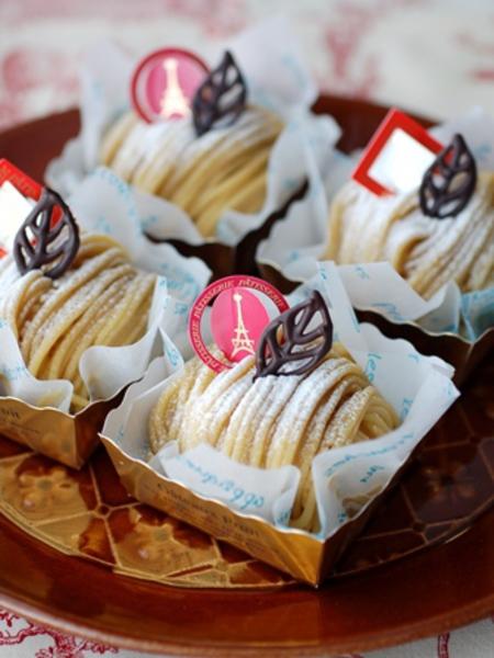 9-10月のお菓子教室「モンブラン」