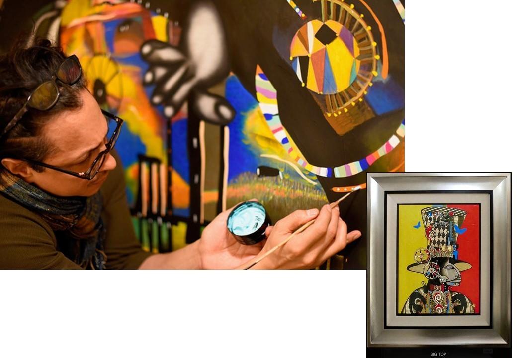 [3歳-小学生] 芸術の秋スペシャル/国際アーティストによる英語で受けるアートイベント「Clemo the Cat」