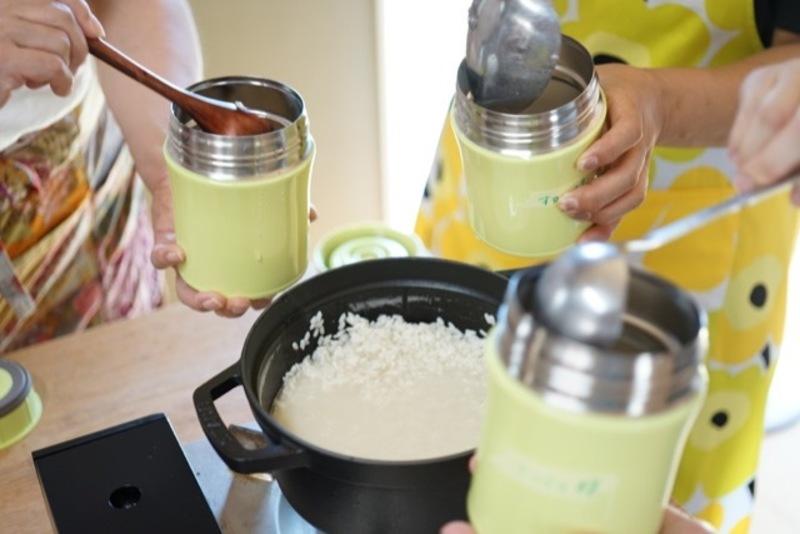ふんわり糀家 水筒で作る甘酒体験レッスン