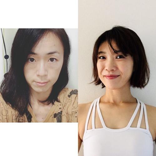 夏休みキッズヨガ (Eiko)(Yurie)