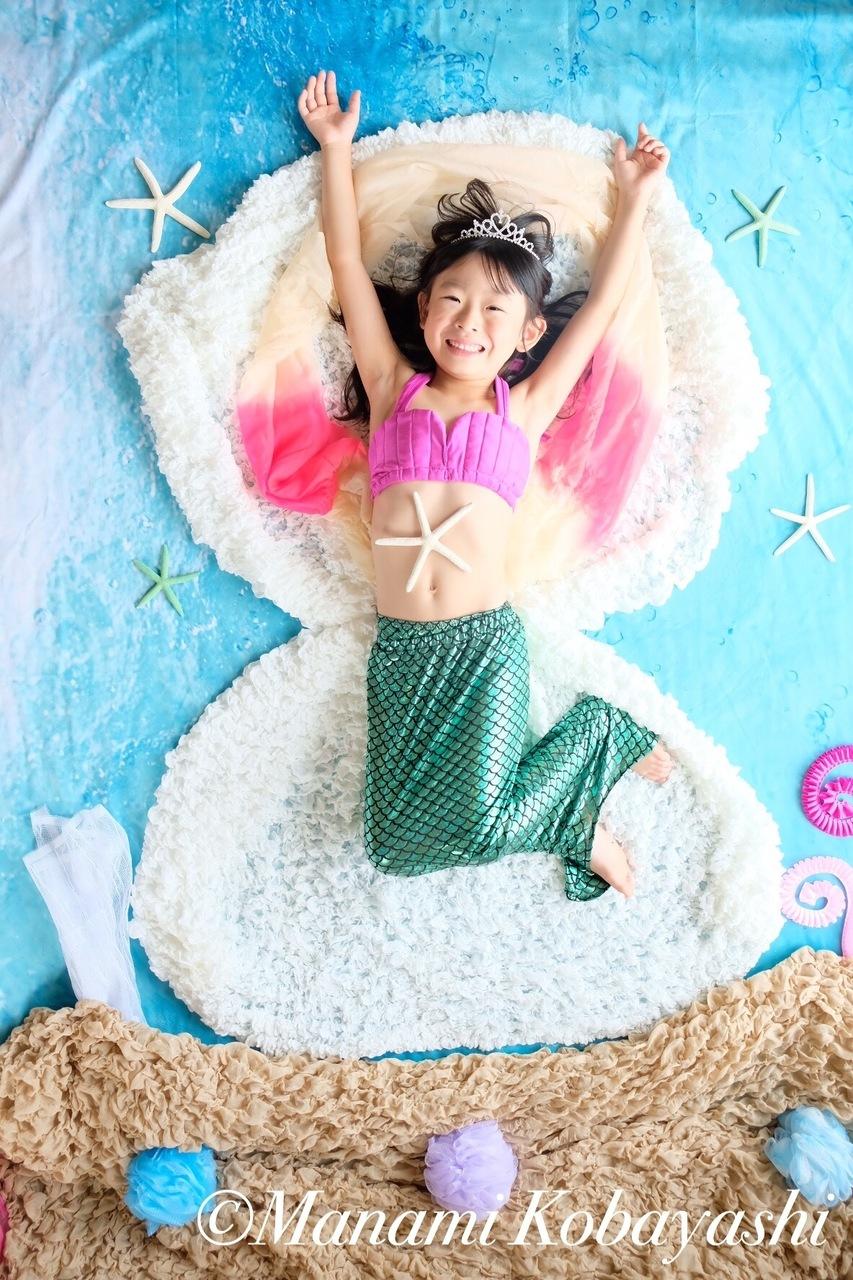 人魚姫のおひるねアート追加撮影会