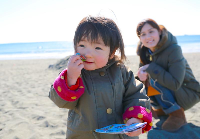3月&4月の絆Photoセッション【海編】おやこ撮影会@茅ヶ崎ヘッドランド(Tバー)