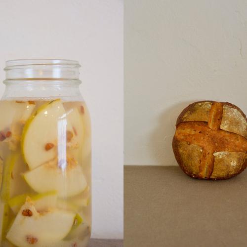 【表現の学校「自家製酵母で作るパン作り/全3回」 講師:トミヤマトモミ】
