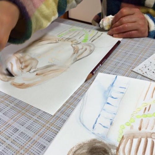 癒しのお絵描き教室