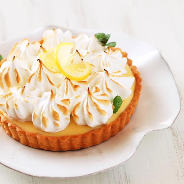 レモンとホワイトチョコレートのタルト