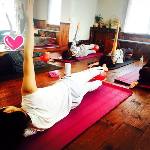 🔰深い呼吸と体幹への意識で姿勢改善 + overball    BASIC