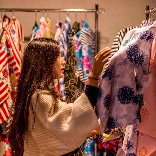 京都で着物・浴衣レンタル♪  Kimono or Yukata Rental in Kyoto♪