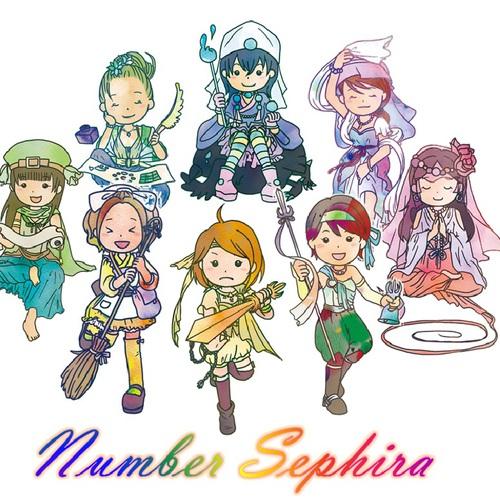 Number Sephira ファミリーセッション