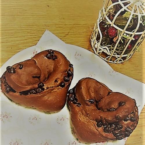 親子パン教室mini ~ハートのチョコチップパンをつくろう!~(2/17日・2,500円・☆・🚼)