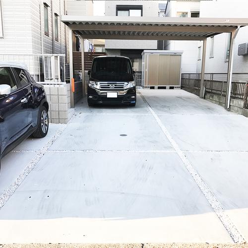 【ガレージ前左側】駐車場 ※平日限定※ ※現在月極契約中のため受け付けていません※