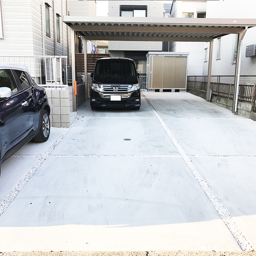 【ガレージ前左側】駐車場 ※平日限定※