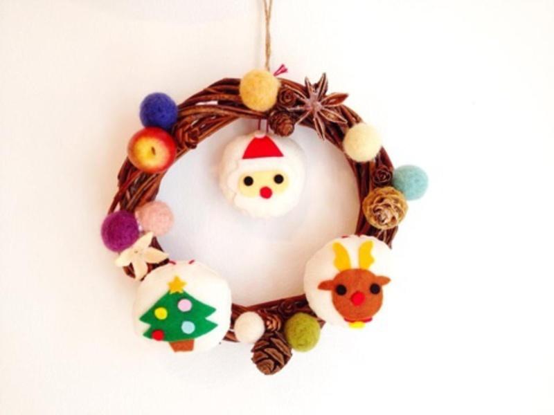 ●12月5日(土)『クリスマスのリース作り』