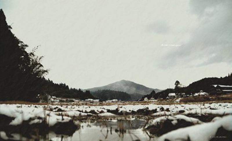 能登富士冬登山で癒される