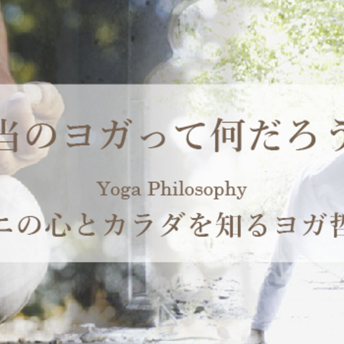 VINI特別クラス/ヨガ哲学&アーサナ&呼吸法など/2時間