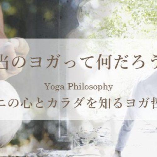特別クラス/yogi vini講座/ヨガ哲学&アーサナ&呼吸法など/4時間