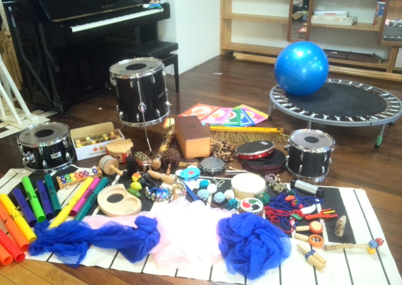 どれみ音楽教室 「音楽療法&音楽療育オリジナルプログラム」 特別レッスン♬