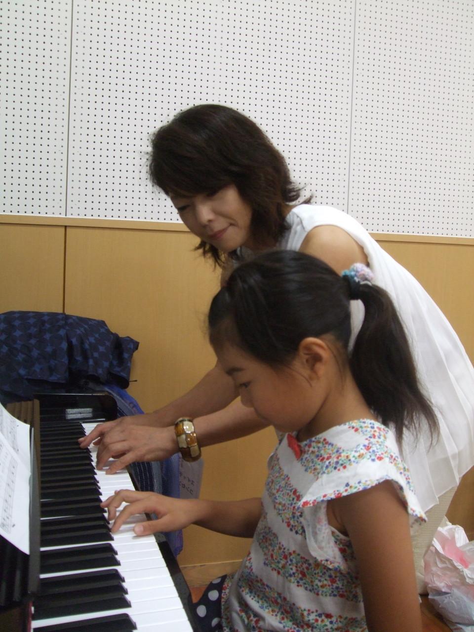 夏休み限定1才~OK!「弾いてみよう!!ピアノ🎹トライアルレッスン」