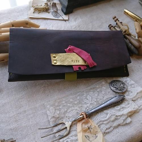 『一枚革のお財布 BUSUTA』に小銭入れをつける追加ワークショップ10月6日(土曜日)10時~12時
