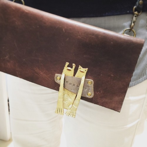 A:『一枚革のお財布 BUSUTA』に小銭入れをつける追加ワークショップ9月30日(日曜日)10時