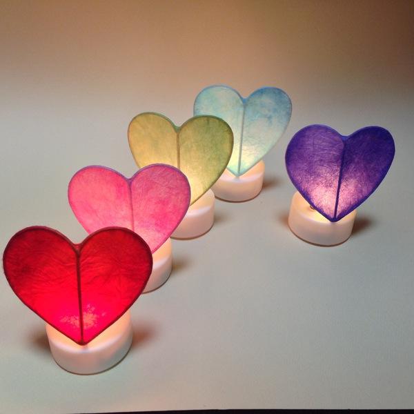 バレンタインデー プチハートキャンドル(LED)作り 1日体験