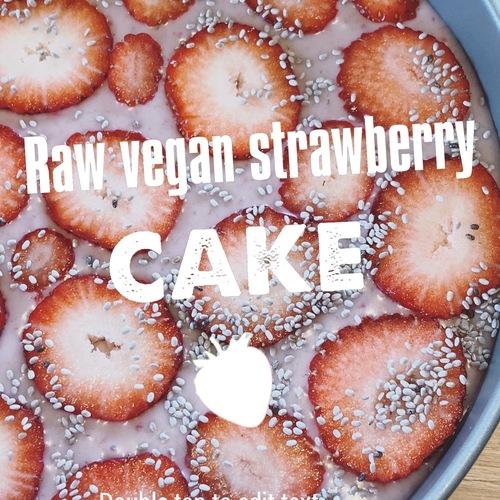 【4/15開催】Raw Sweets WS「ロービーガンのいちごケーキ」