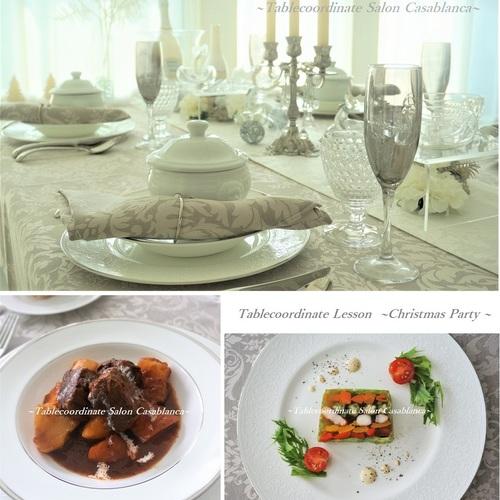 🎄ホワイト クリスマス🎄お料理&テーブルコーディネート♪