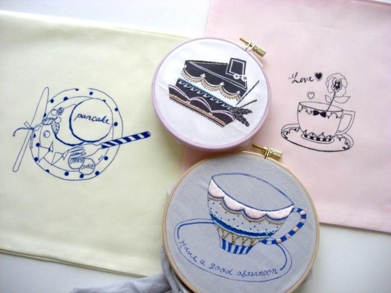 【「刺繍CAFE」at EDiTORS 8/27(日)】
