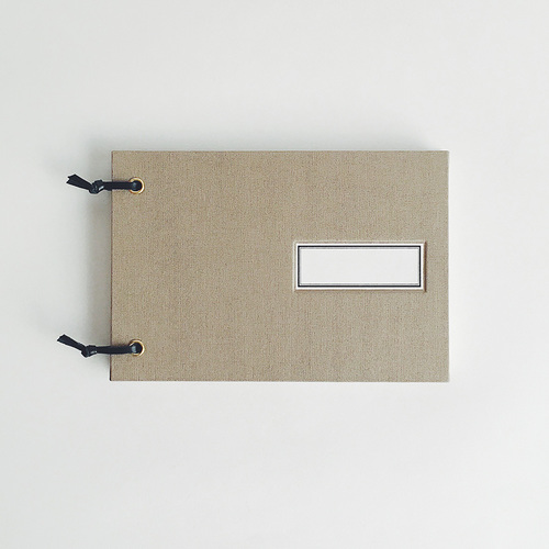 4/7(土)『週末でつくる紙文具』ワークショップ 〜布貼りのミニスケッチブック作り〜