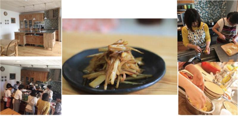 木のキッチンで料理教室 春の和食・一汁三菜ごはん
