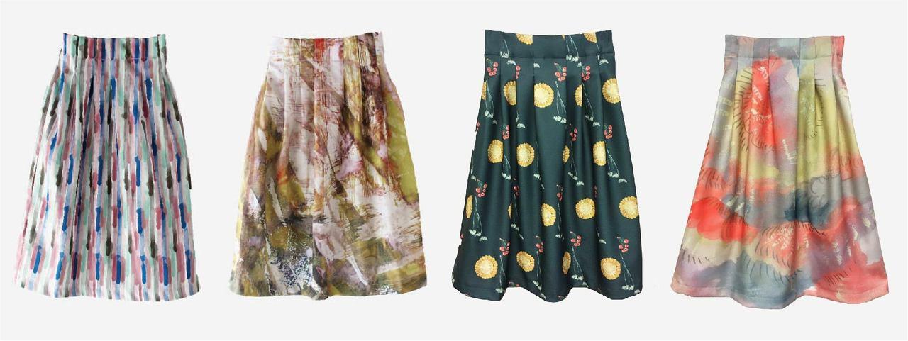 生地からつくるオリジナルスカート