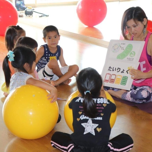 ◯【名古屋 ワンコイン体験】キッズバランスボールスクール(年少さん〜小学生)