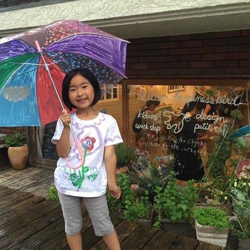 6月Little★世界にひとつのお絵描き傘★対象:3才頃~
