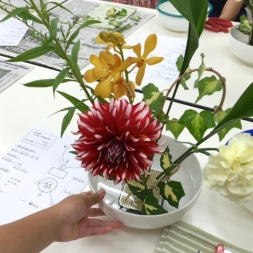 こども:生け花