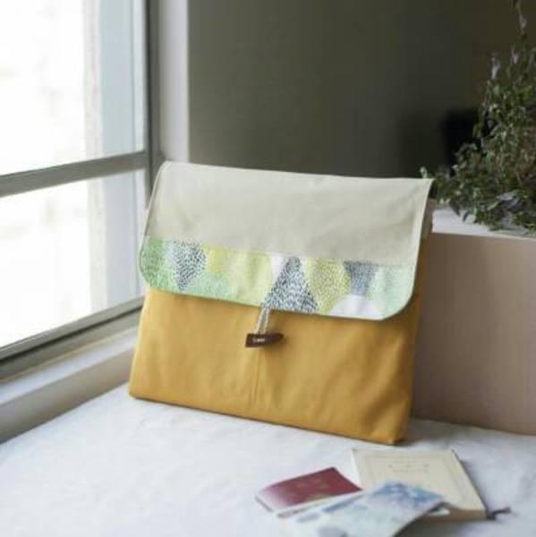 ①赤峰清香「帆布のバッグinバッグ」(2k540)