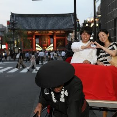 Asakusa sightseeing by Rickshaw〔45-minute course〕