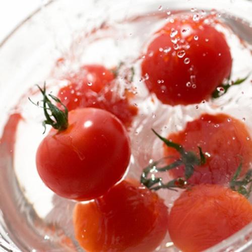 夏祭り!冷やしトマト!!