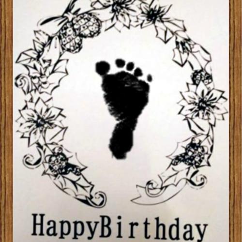尾道■毎月第4(金)お誕生日会&季節の手形足形アート