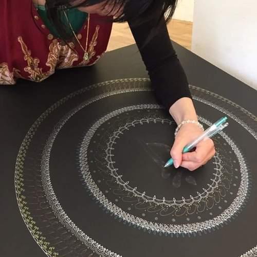 Harmony Mandala artワークショップ in 新三郷