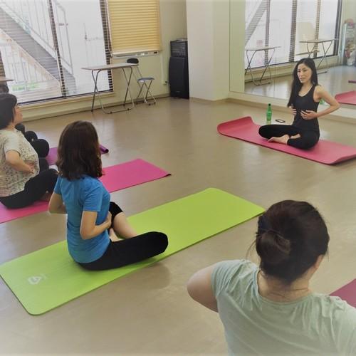 呼吸と体幹エクササイズ 勢力