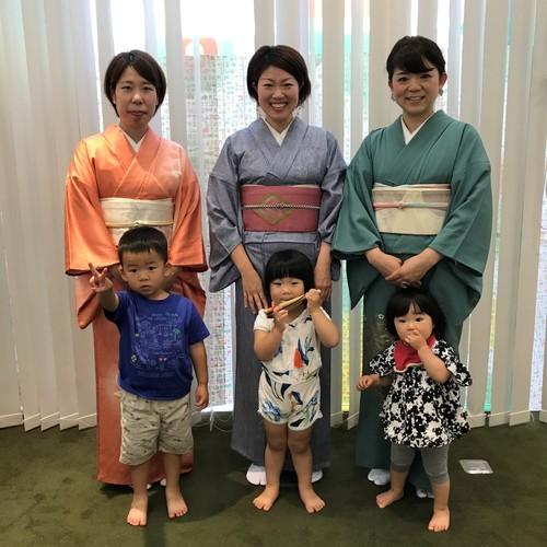 見守り保育付き!ママのための着付け教室~秋編~