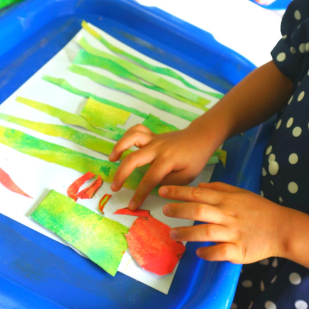 【中止・5/31まで】[親子で参加/2歳-3歳] 飾れる作品を造ろう!BABYアート☆