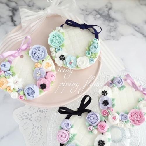 『アトリエシフォンオリジナル お花絞り 集中コース♡』