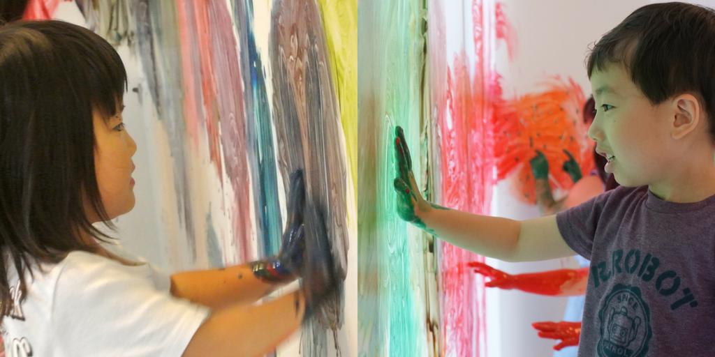 [3歳-小学生]全身でペイント!FREELY☆Summer(夏) 8月