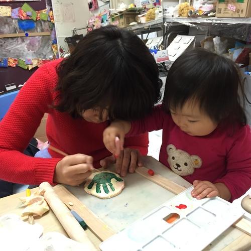 Mom&Me Art 親子で一緒に、ベビーと一緒にアートを楽しむクラス