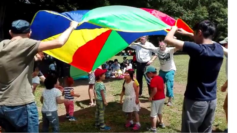 <受付終了しました>6月【英語/幼児小学生クラス】パラバルーンで英語でLet's Have Fun!