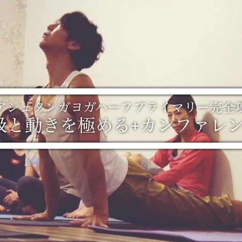 A【アシュタンガヨガハーフプライマリー完全攻略(呼吸と動きを極める)+カンファレンス】青田潤一 WS