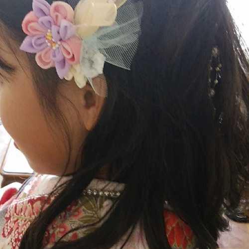 2/15(木)10:00~12:00 つまみ細工で卒業式の髪飾りと袴飾り作り