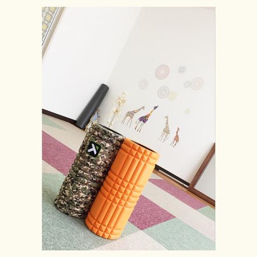 【グリッドフォームローラーを使用した、筋膜リリース&コアトレーニング!】