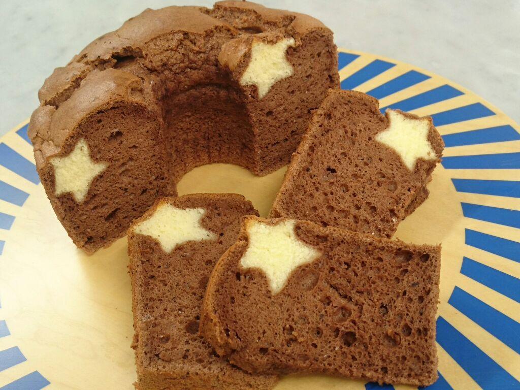 1dayレッスン アートケーキ「スターシフォン」